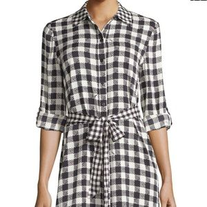Diane von Furstenberg Prita Silk Shirt Dress